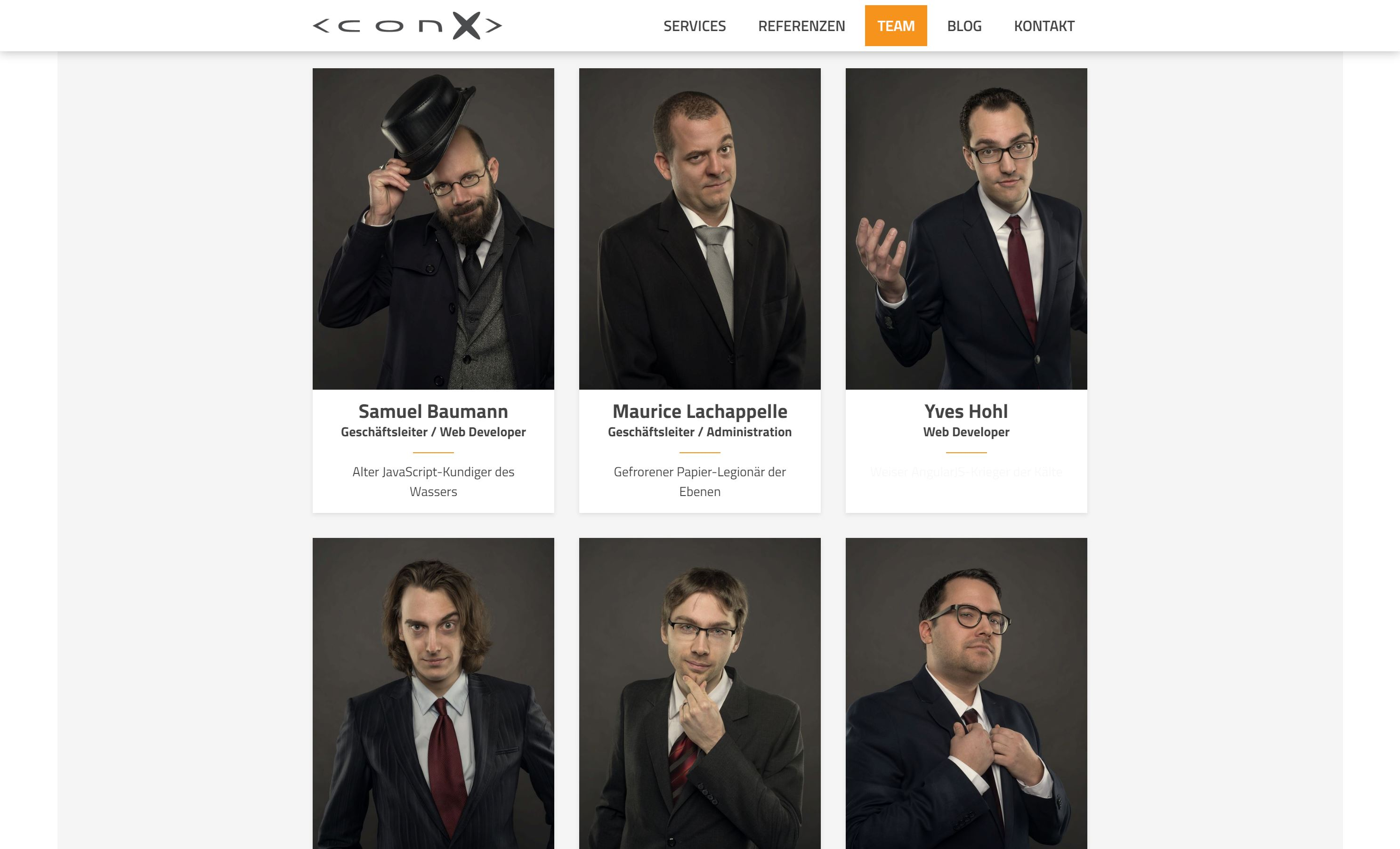 Neue ConX Website